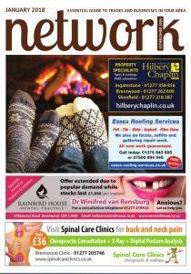 Network magazine Janaury 2018 front cover