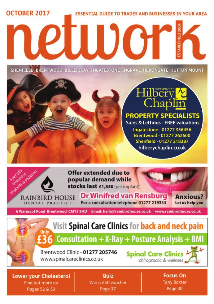 Adverts in Hutton Mount Oct 17