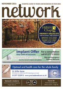 Network magazine November 2014 front cover