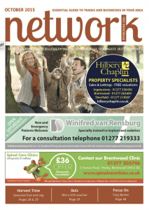 Network magazine October 2015 front cover