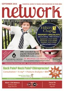 Network magazine September 2016 front cover