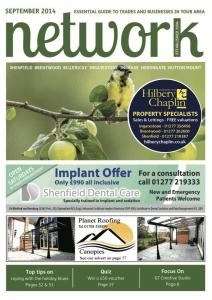 Network magazine September 2014 front cover