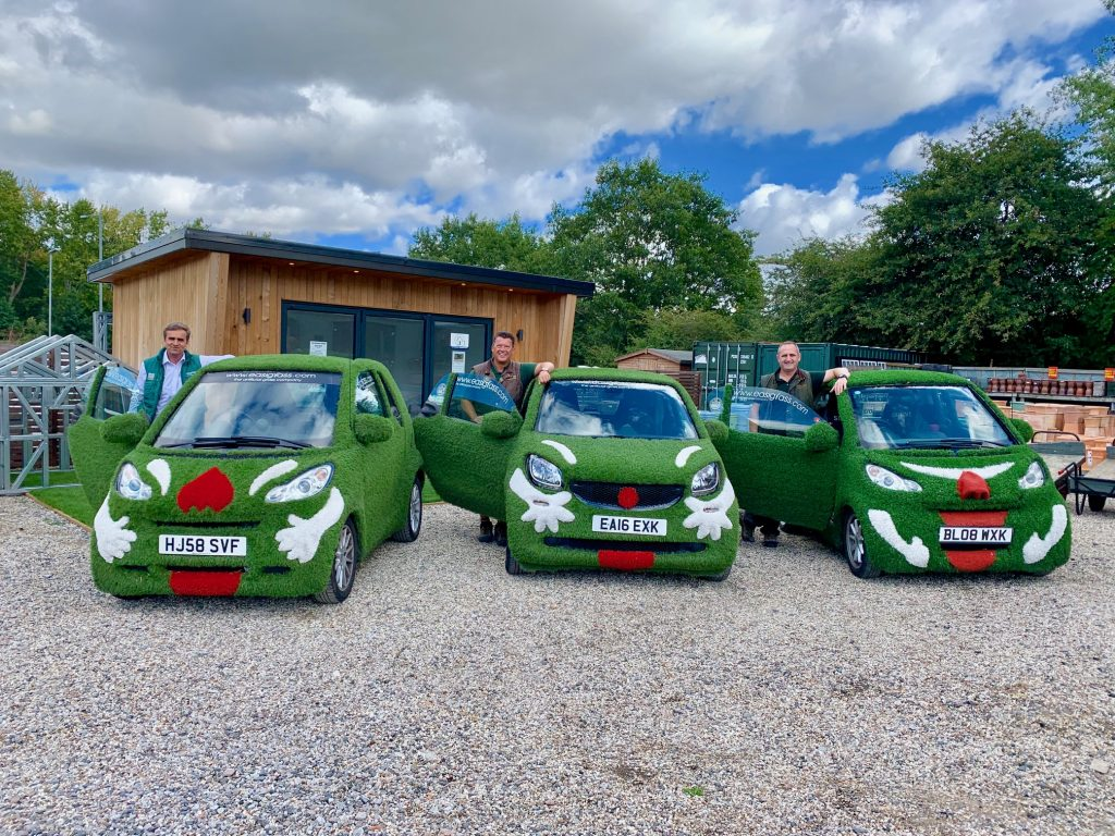 Easigrass Essex company vehicles