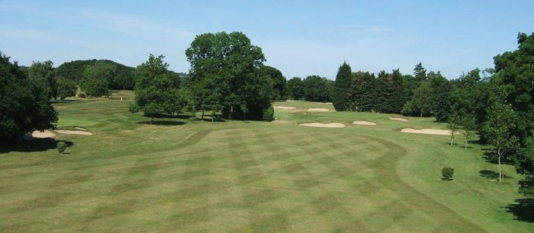 Romford Golf Course on a sunny day